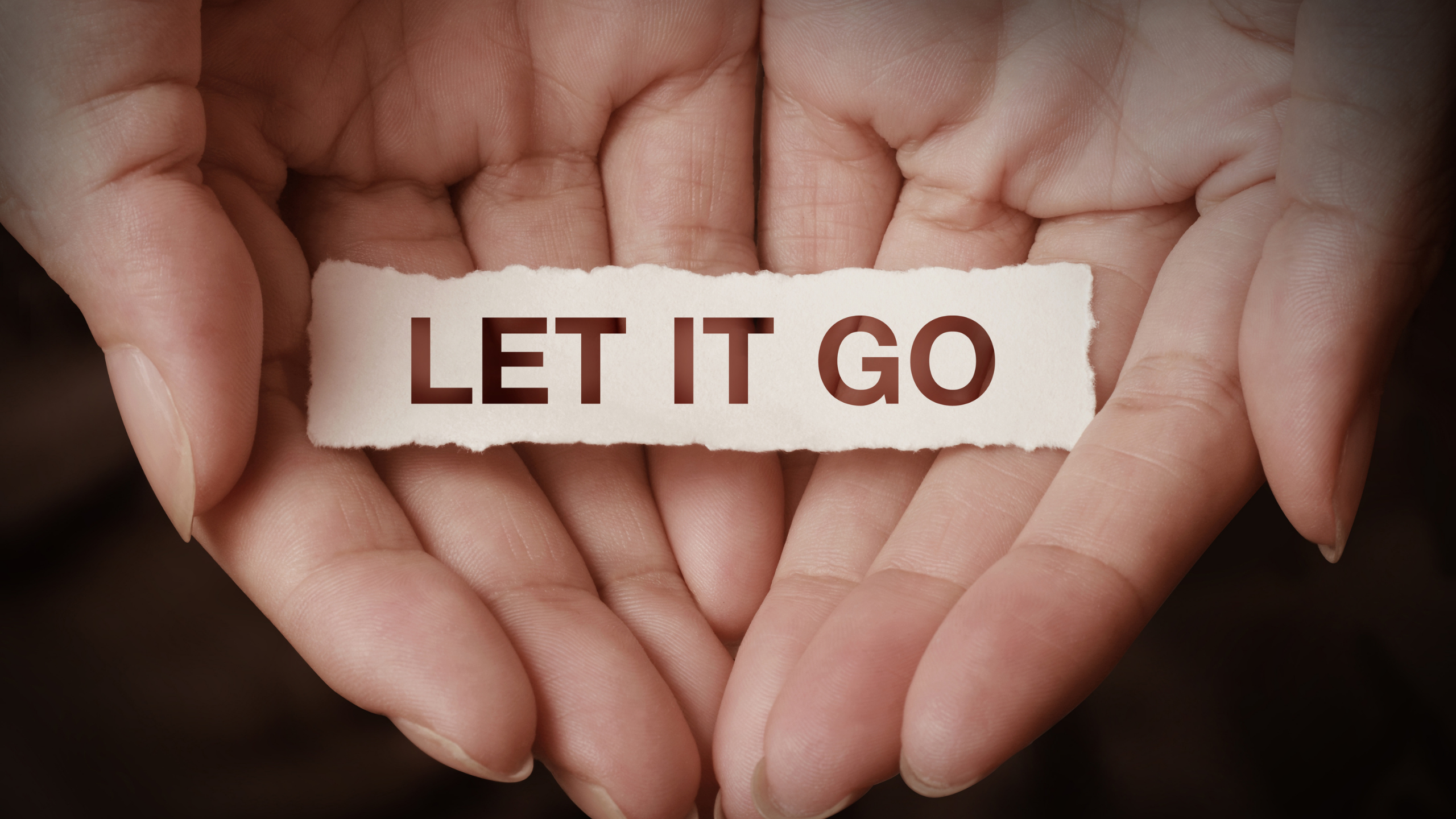 How To Let Go Of The Hurt