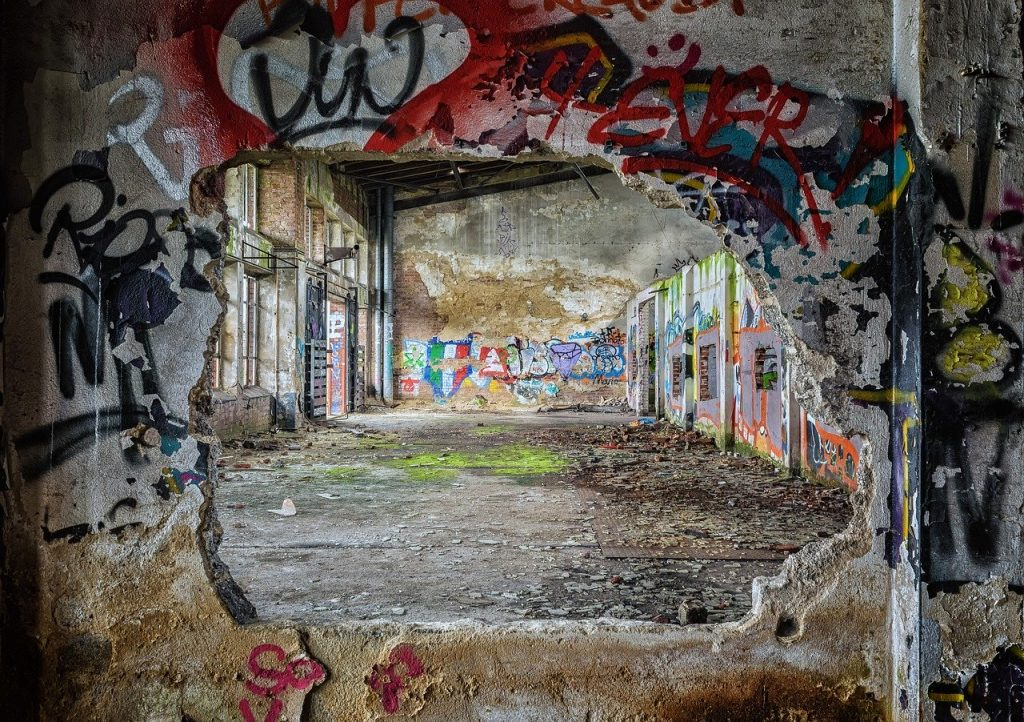 lost places, wall, pforphoto