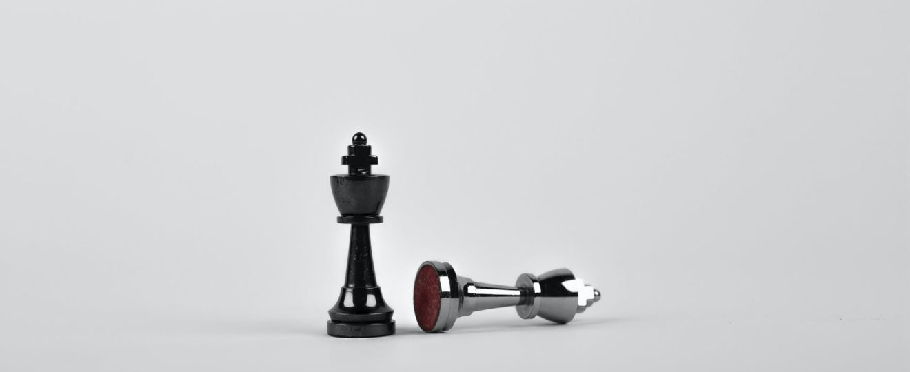 battle black board game chess