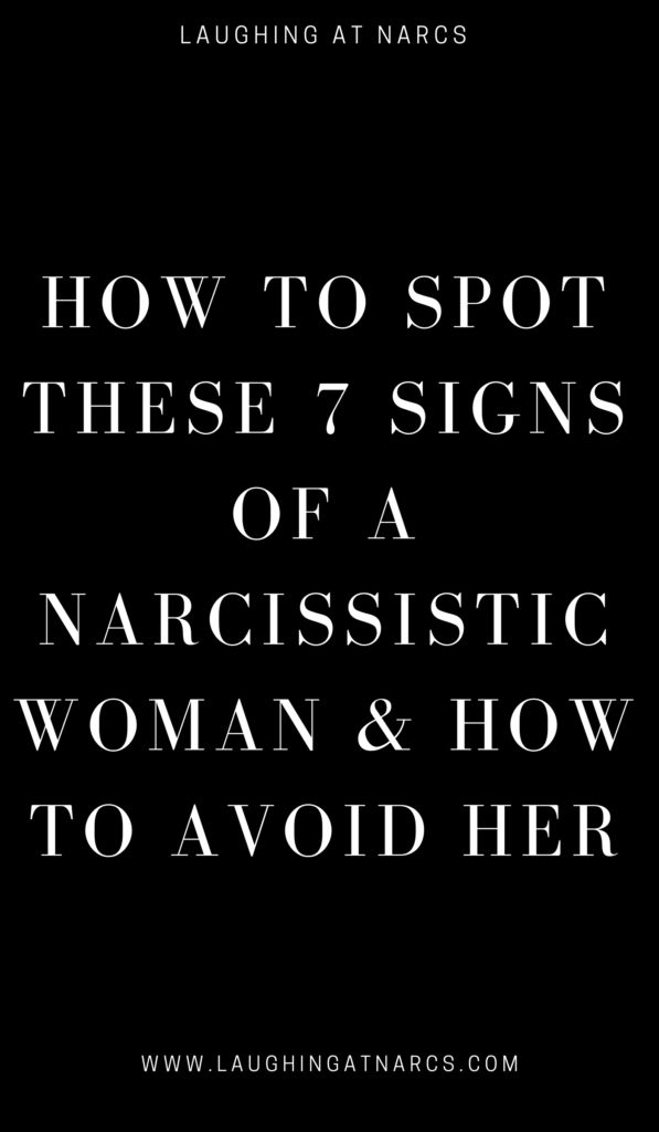 Signs Of A Narcissistic Woman