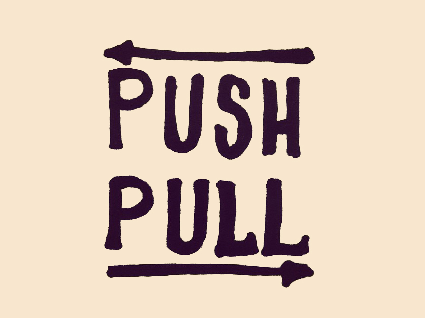 what are push and pull factors