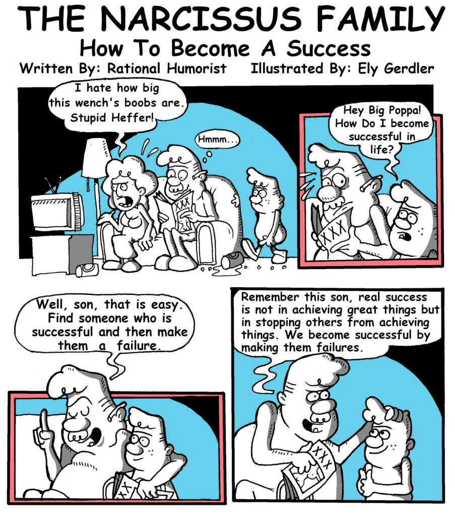A Narcissist Definition Of Success